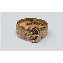 Gold Wedding Ring (sz 7)