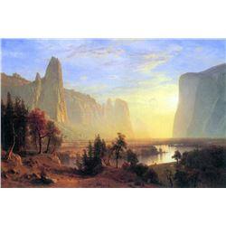 Yosemite Valley by Albert Bierstadt