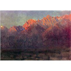 Sunrise in the Sierras by Albert Bierstadt