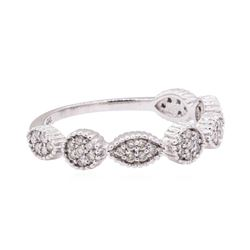 0.28 ctw Diamond Ring - 14KT White Gold