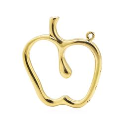 Tiffany and Company Elsa Peretti Apple Motif Pendant - 18KT Yellow Gold