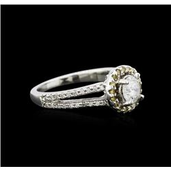 1.03 ctw Diamond Ring - 14KT White Gold