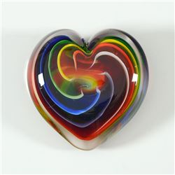 Heart of Fire (Bohemian) by Glass Eye Studio