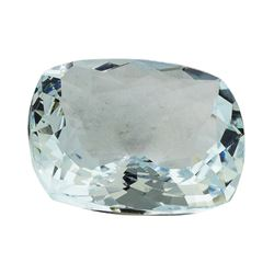 10.50 ct.Natural Cushion Cut Aquamarine