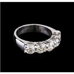 2.53 ctw Diamond Ring - 14KT White Gold