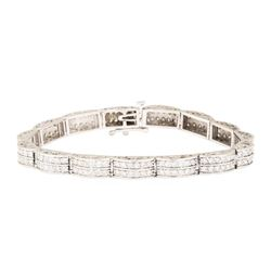 4.00 ctw Diamond Tennis Bracelet - 14KT White Gold