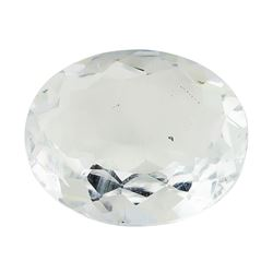 5.41 ct.Natural Oval Cut Aquamarine
