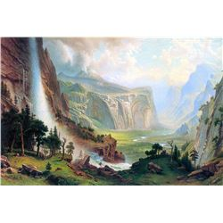Half Dome in Yosemite by Albert Bierstadt