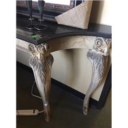 Rams ( hand-carved ) unique parsons table
