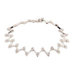 0.76 ctw Diamond Bracelet - 18KT White Gold