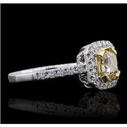 18KT White Gold 1.98 ctw Diamond Ring