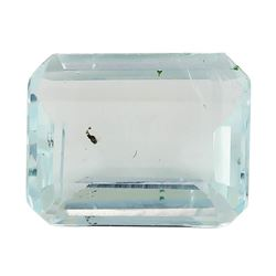 4.27 ct.Natural Emerald Cut Aquamarine