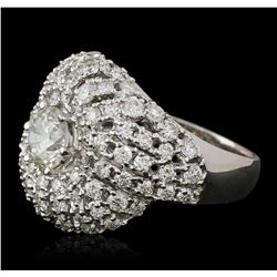14KT White Gold 2.00 ctw Diamond Ring