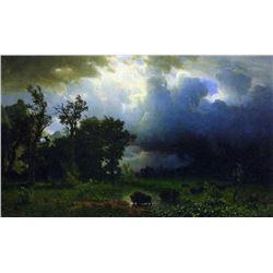 Before the Storm by Albert Bierstadt