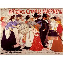 Steinlen - Affiches Charles Verneau