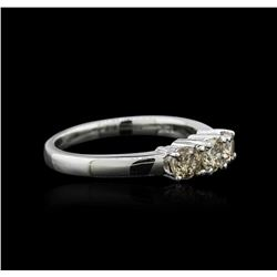 14KT White Gold 0.75 ctw Diamond Ring