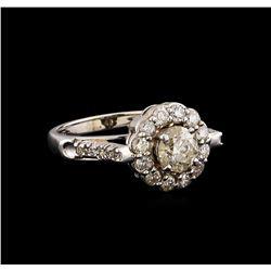 14KT White Gold 1.63 ctw Diamond Ring
