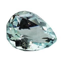5.83 ct.Natural Pear Cut Aquamarine