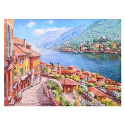 Steps to Lake Como by Park, S. Sam