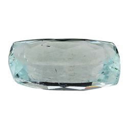 7.43 ct.Natural Cushion Cut Aquamarine