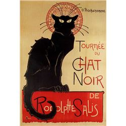Theophile A Steinlen - Chat Noir