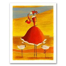 Saxophone Girl by Myatlov, Ester