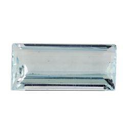 4.50 ct.Natural Rectangle Step Cut Aquamarine