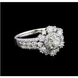 14KT White Gold 1.89 ctw Diamond Ring