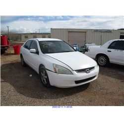 2003 - HONDA ACCORD//RESTORED SALVAGE