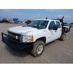 2012 CHEVROLET 2500 HD Flatbed Truck