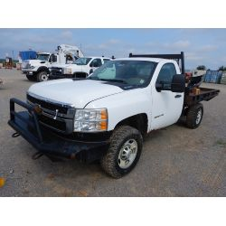 2013 CHEVROLET 2500 HD Flatbed Truck