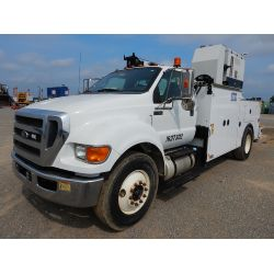 2012 FORD F750 Service / Mechanic / Utility Truck