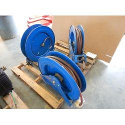 Hose Reel w/ Air Hose Shop Equipment