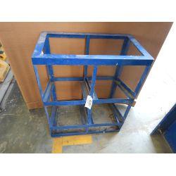 Wheel Chock Rack Shop Equipment