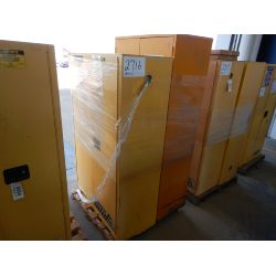 JUSTRITE FLAMMABLE STORAGE CABINETS Shop Equipment