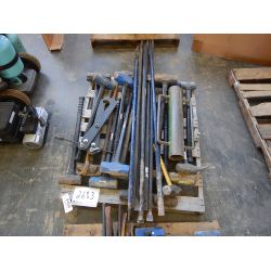 SLEDGE HAMMERS, PRY BARS, ADJ WRENCHES Tool