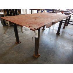 METAL SHOP TABLE Shop Equipment