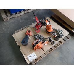 (3) 3 TON CHAIN FALLS Tool