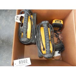 DEWALT (2) DC020 WORK LIGHT Tool