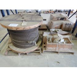 CABLE SPOOL W/ CLAMPS Shop Equipment
