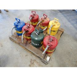 JUSTRITE SAFETY FUEL CAN Shop Equipment