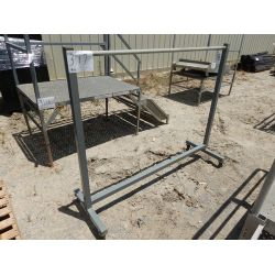 6' METAL RACK Shop Equipment