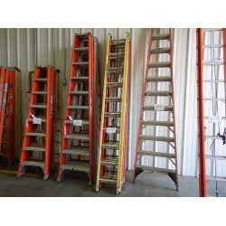 FIBERGLASS EXTENSION LADDER Shop Equipment