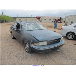 1995 - CHEVROLET CAPRICE/RESTORED SALVAGE