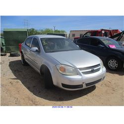 2007 - CHEVROLET COBALT/RESTORED SALVAGE