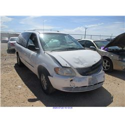 2001 - CHRYSLER TOWN AND COUNTRY