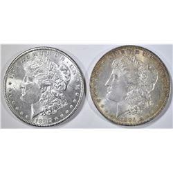 1884-O, 97 MORGAN DOLLARS CH BU