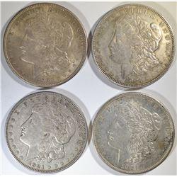 2-1921 & 2-1921-D CIRC MORGAN DOLLARS