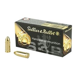 S& B 9MM 115GR FMJ - 500 Rds