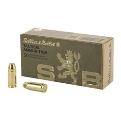 S& B 9MM SUBSONIC 140GR FMJ - 500 Rds